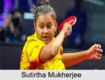 Sutirtha Mukherjee, Indian Table Tennis Players