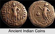 Indian Coins, Indian Administration