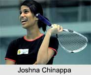 Joshna Chinappa, Indian Squash Player