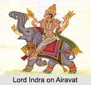 Lord Indra, God of Rain, Hindu God
