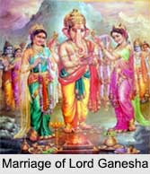 Marriage of Lord Ganesha
