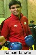 Naman Tanwar, Boxers in India