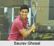 Saurav Ghosal, Indian Squash Player