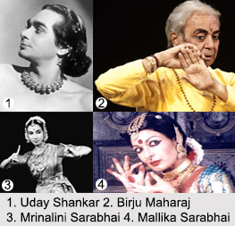 Indian Dancers, Indian Dance