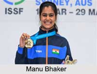 Manu Bhaker, Shooters in India
