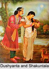 Dushyanta, Shakuntala, Kalidasa