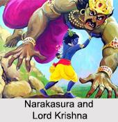 Narakasura, Demon, Indian Puranas