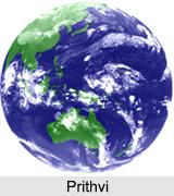 Prithvi, Earth