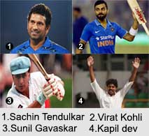 Indian Cricket Players, Indian Cricket