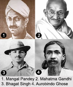 Indian Revolutionaries, History of India