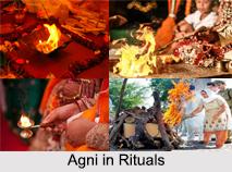 Lord Agni, Hindu God