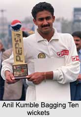 Anil Kumble, Indian Cricket Players
