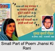 Subhadra Kumari Chauhan, Indian Poetess