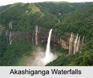 Akashiganga Falls, Assam