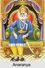 Anaranya, King of Ayodhya