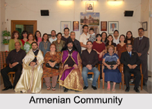 Armenian Community, Christianity, Indian Community