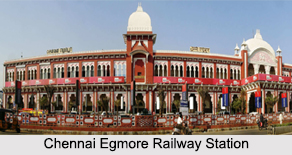 Chennai Egmore Railway Station, Indian Railways