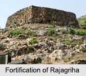 Fortification of Rajagriha, Magadha
