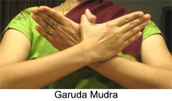 Garuda Mudra, Yoga