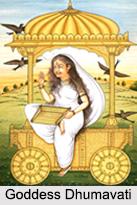 Goddess Dhumavati, Ten Mahavidya, Indian Goddess