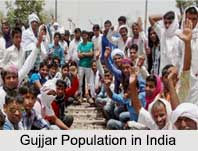 Gujjar Population in India