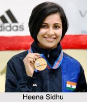 Heena Sidhu, Shooters in India