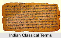 Indian Classical Terms