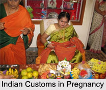 Indian Customs in Pregnancy, Indian Festivals