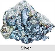 Indian Silver Mines, Indian Mines and Minerals