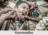 Karnavedha, Indian Hindu Customary Ceremonies