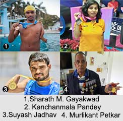 Paralympic Swimmers of India, Indian Athletes