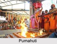 Purnahuti, Hindu Ceremony