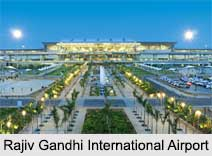 Rajiv Gandhi International Airport, Indian Airports
