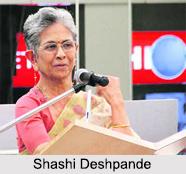 Shashi Deshpande, Indian Woman Writer