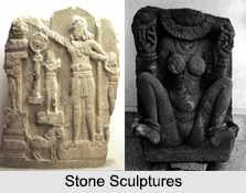 Stone Sculptures, Indian Tribal Art