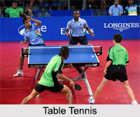 Table Tennis Tournaments in India, Table Tennis in India