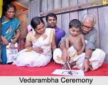 Vedrambha, Hindu Ceremony