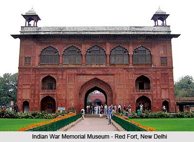 Red Fort - Indian War Memorial Museum, New Delhi