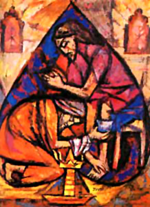 Jyoti Sahi painting