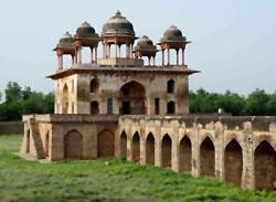 Jal Mahal in Narnaul, Haryana