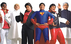 Johny Lever in  his own show -  Johny Aala Re