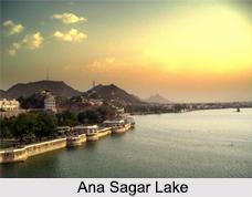 Ana Sagar Lake, Ajmer, Rajasthan