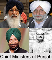 Chief Ministers of Punjab
