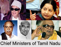 Chief Ministers of Tamil Nadu