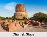 Dhamek Stupa, Sarnath, Uttar Pradesh