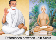Difference between Jain Sects