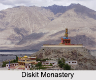 Diskit Monastery, Ladakh, Jammu and Kashmir