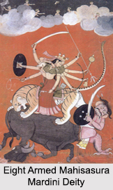 Iconography of Mahisasura Mardini, Religious Iconography in India