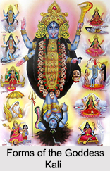 Forms of Goddess Kali