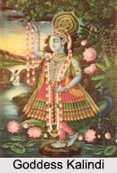 Goddess Kalindi, Hindu Goddess